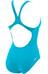 arena Maltosys Swimsuit Women turquoise/metallic silver
